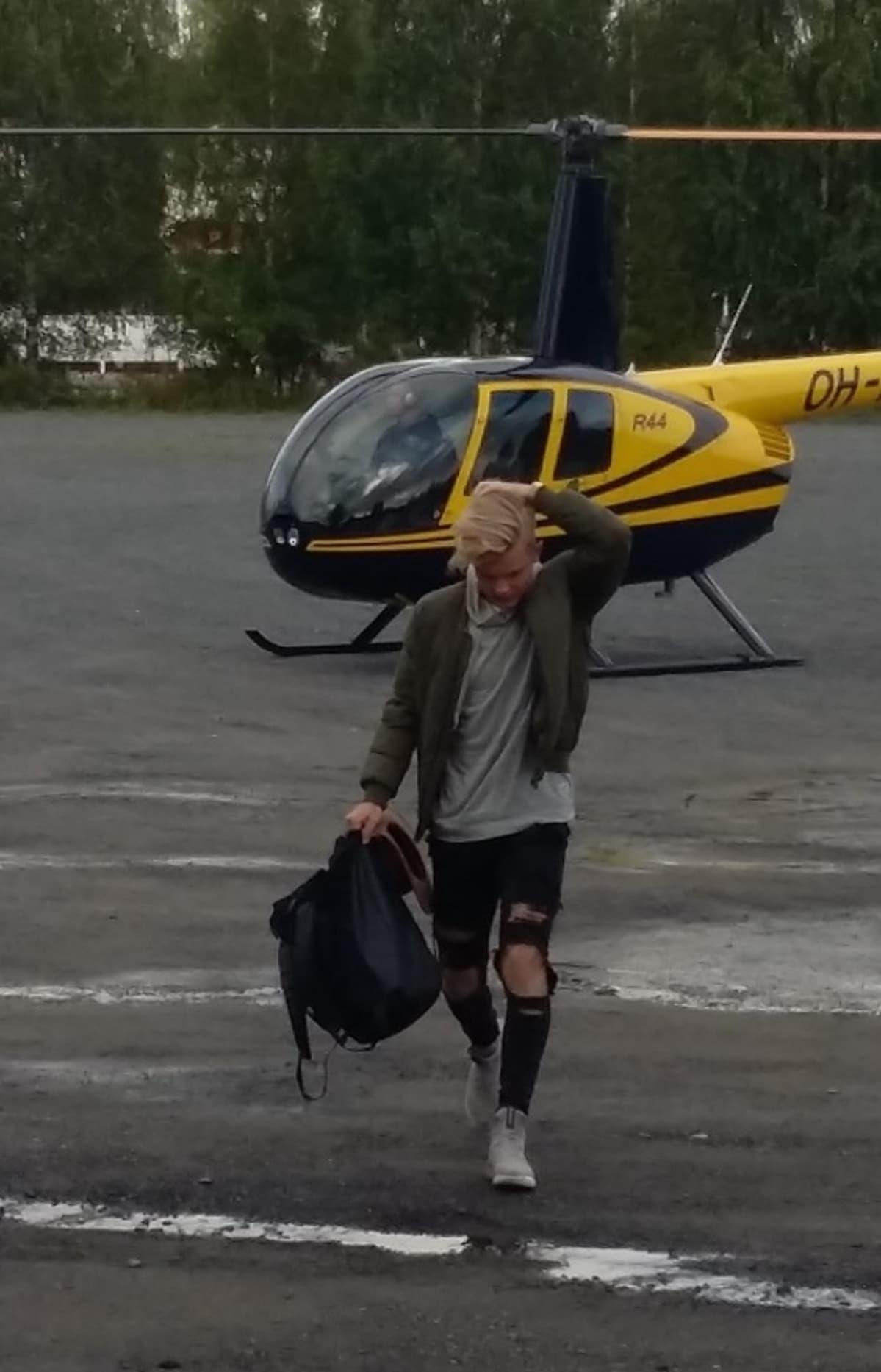 Benjamin ja helikopteri