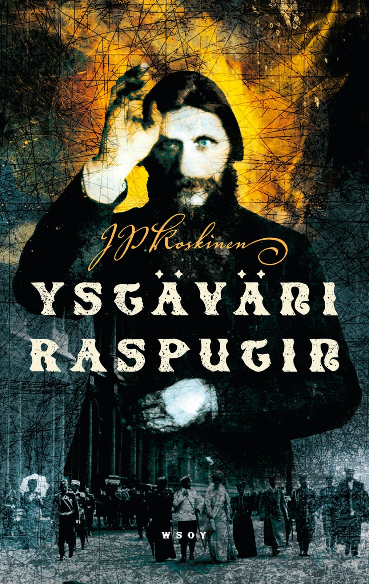 Ystäväni Rasputin -kirjan kansi.
