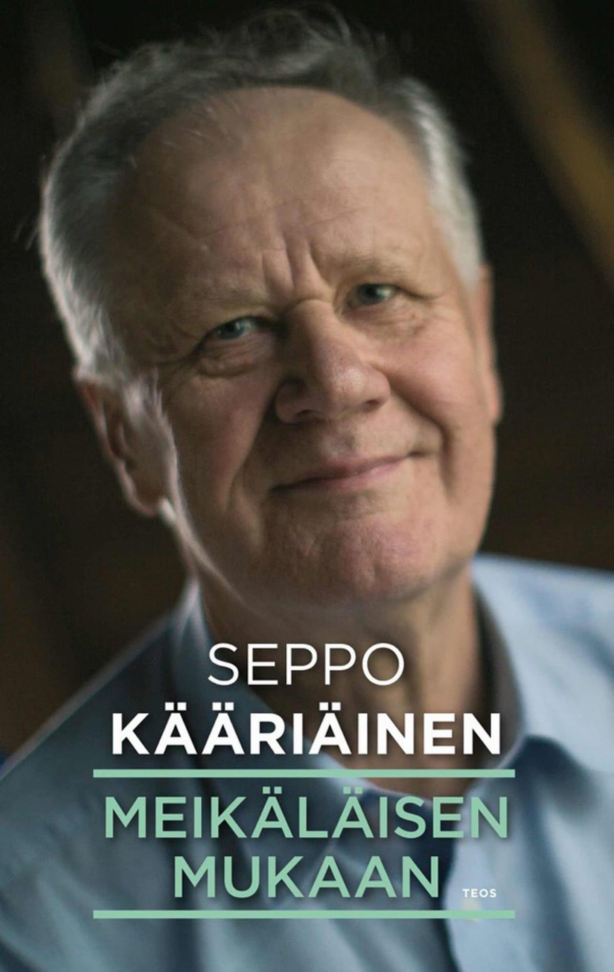 """Seppo Kääriäinen """"Meikäläisen mukaan"""" kirjankansi."""