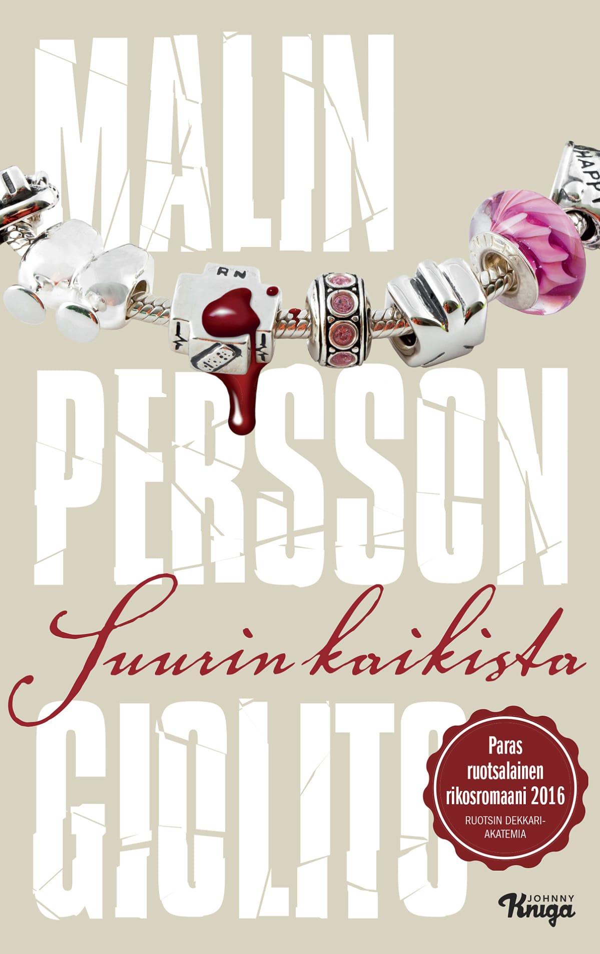 Malin Persson Gioliton kirjan Suurin kaikista kansi.