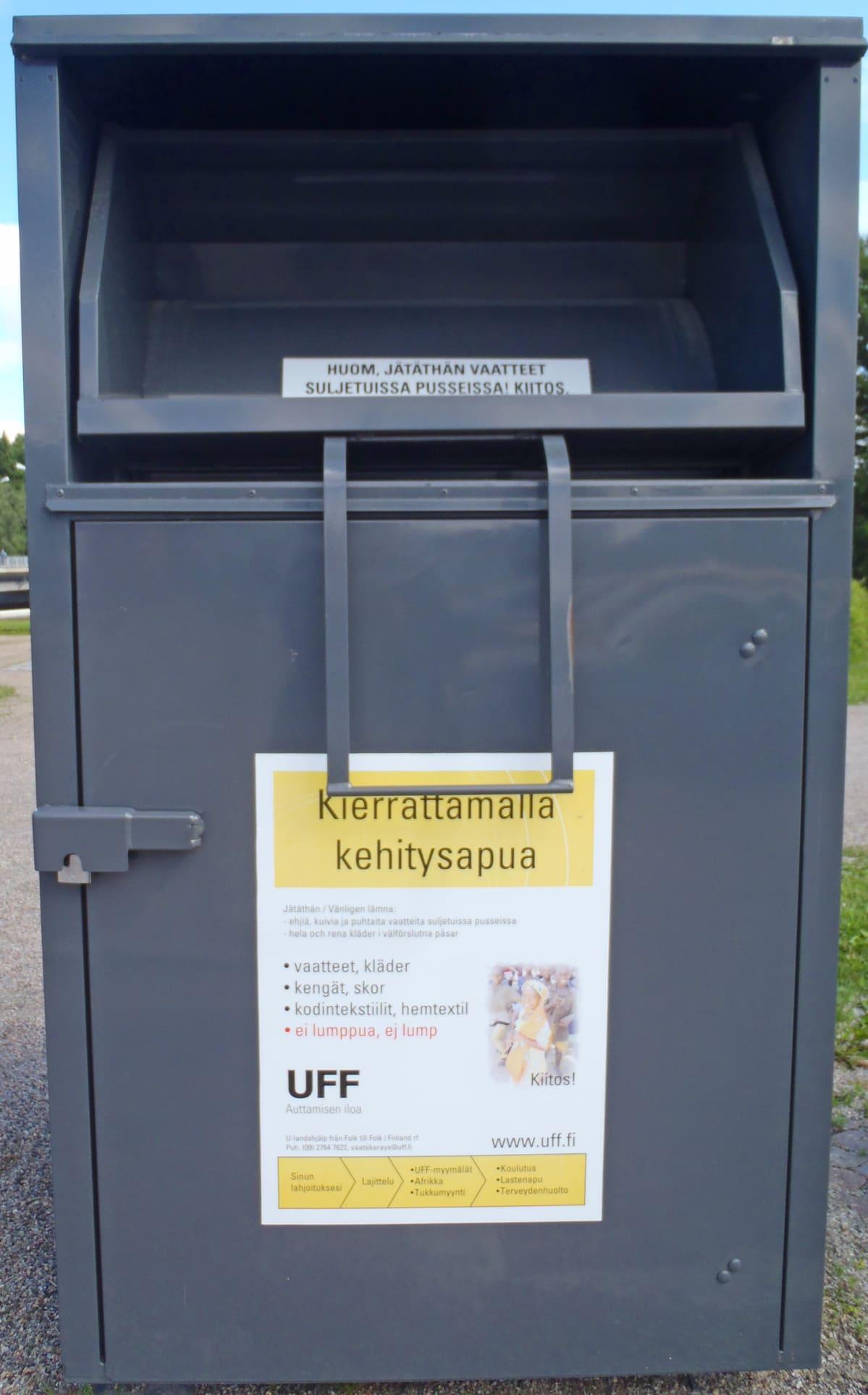 UFF n vaatekierrätys on rikkomassa ennätyksensä tänä vuonna  ae33a75bc2