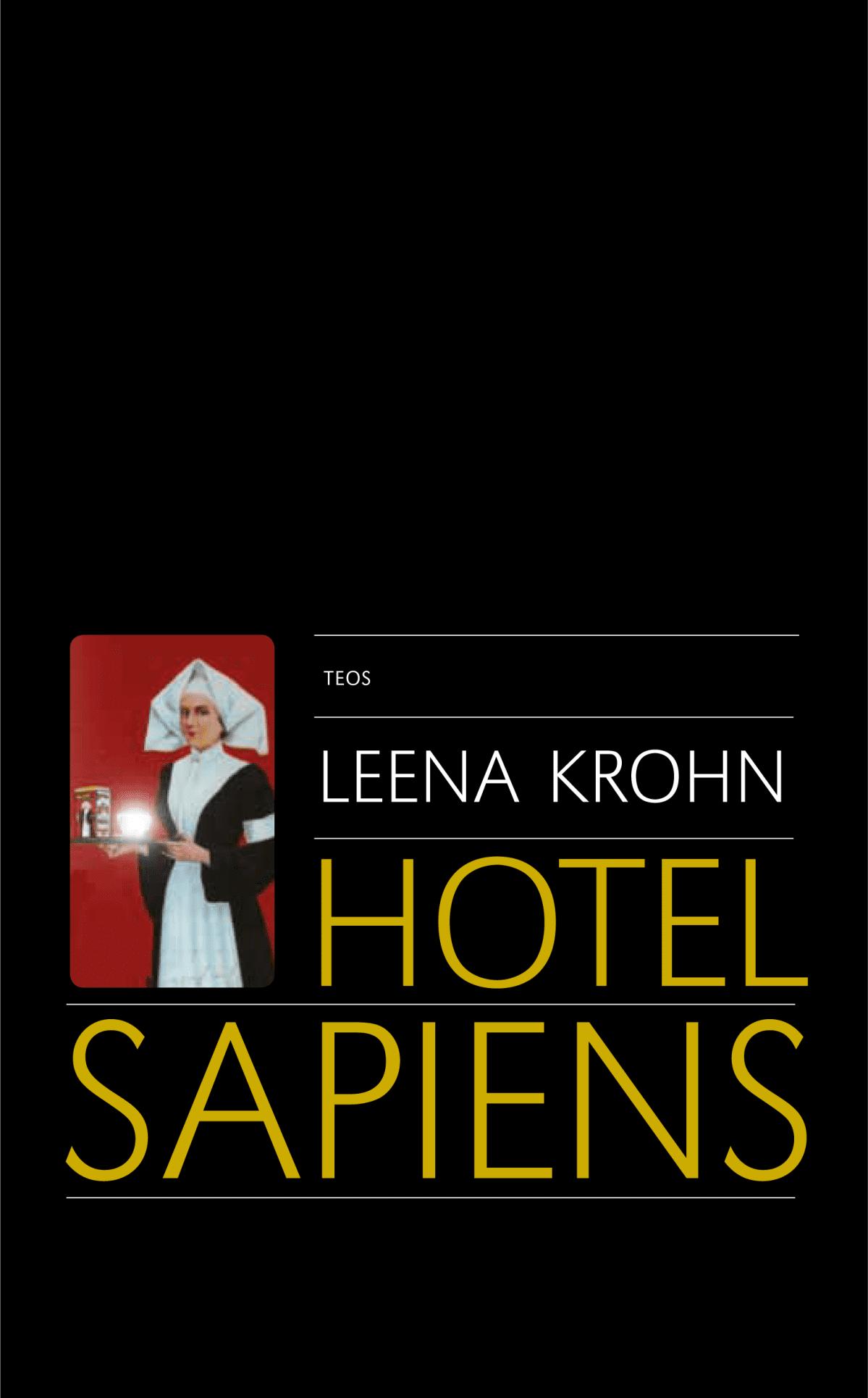 Hotel Sapiens -kirjan kansi.
