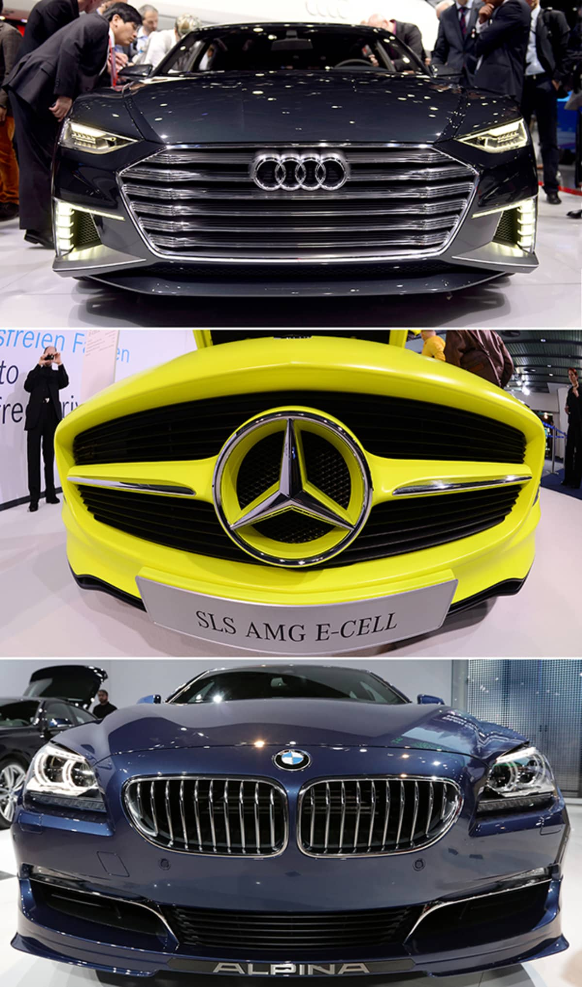 Audi Daimler BMW.
