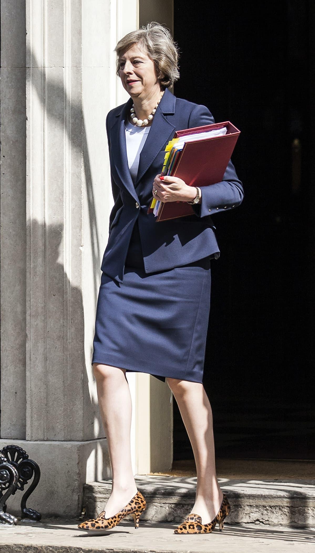Iso-Britannian pääministeri Theresa May heinäkuussa 2016