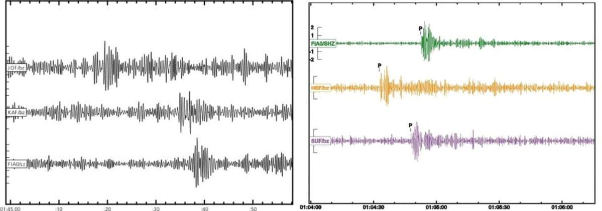 seismolografikäyrä