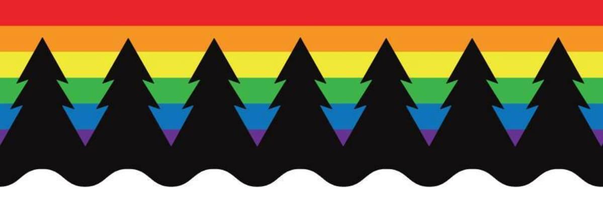 Kainuun Priden logo.