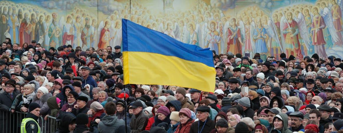 Ukrainan lippu
