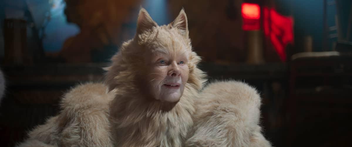 Vanha Deuteronumy (Judy Dench) on paitsi vanhin ja viisain Cats-elokuvan kissoista, myös ulkonäöltään eniten yleisöä oudoksuttanut hahmo.
