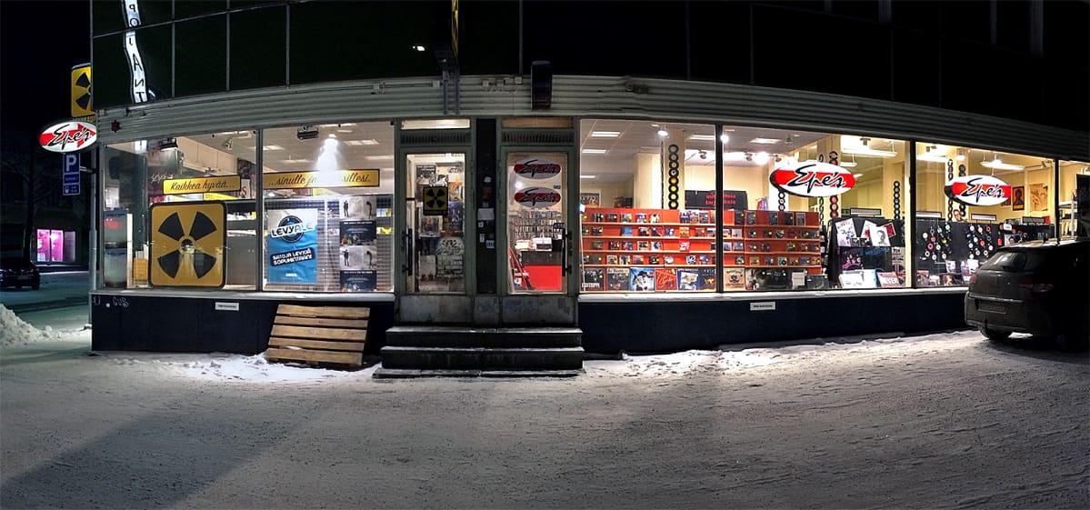 Epesin myymälä Tampereella
