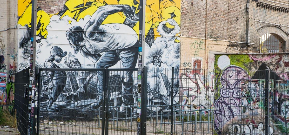 Graffiti Berliinistä