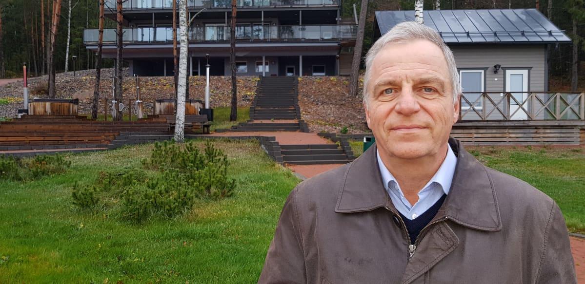 Airiston Helmen hallituksen jäsen Dan Högström.