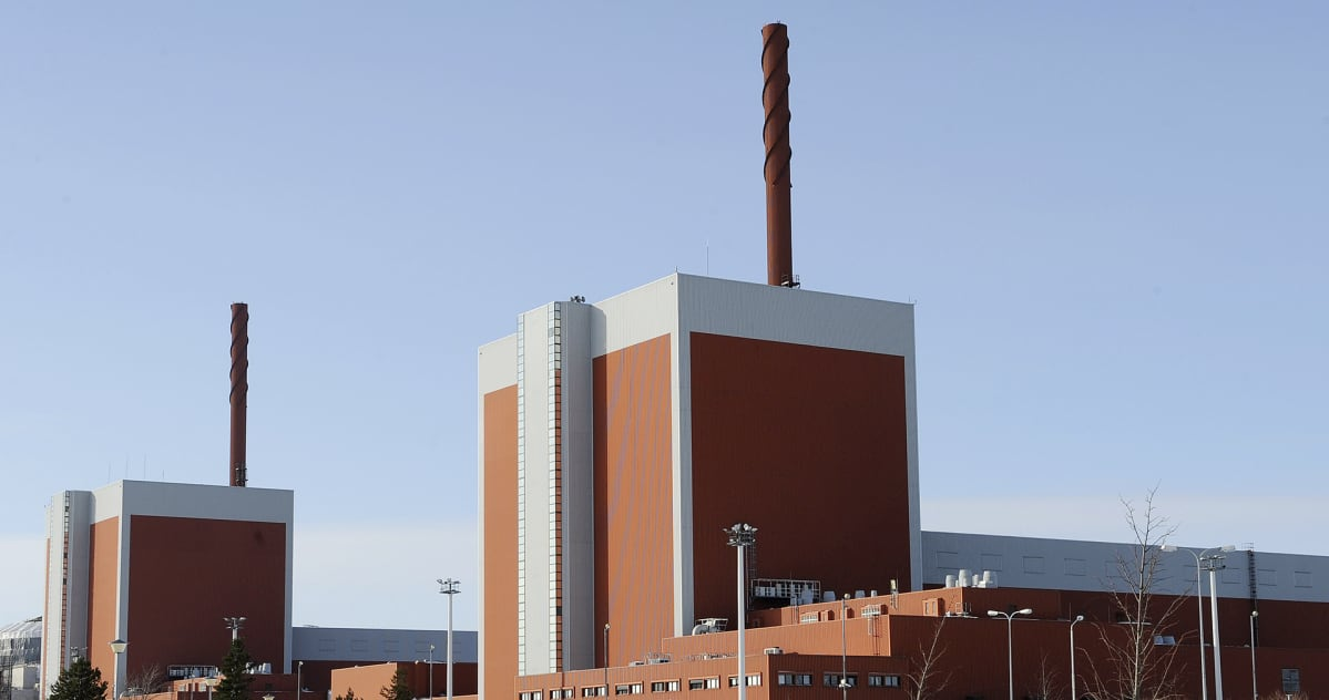 Olkiluoto 1 ja Olkiluoto 2 ydinvoimala-alueella Eurajoella.