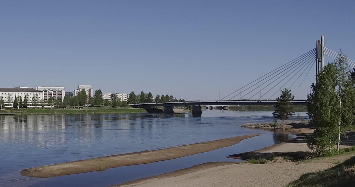 Ounaskosken uimaranta Rovaniemellä