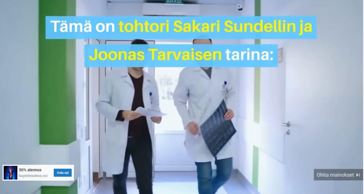 huijausmainoksessa on suomalaisia tohtoreita