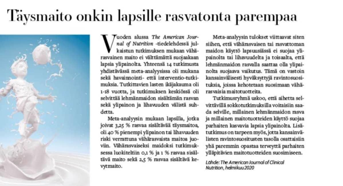 Kuva Laatuapteekit-lehden uutisesta.