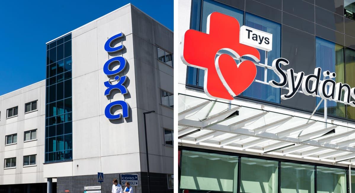 Taysin coxa ja sydänsairaala.