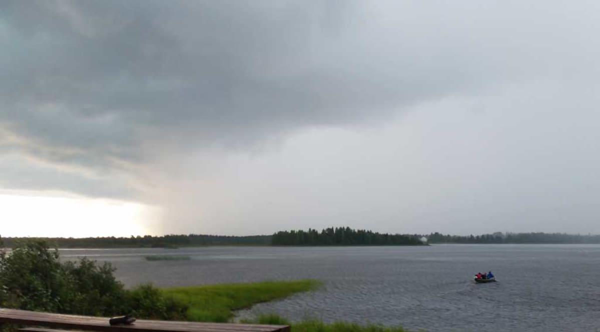 Pudasjärvi kesä 2016.