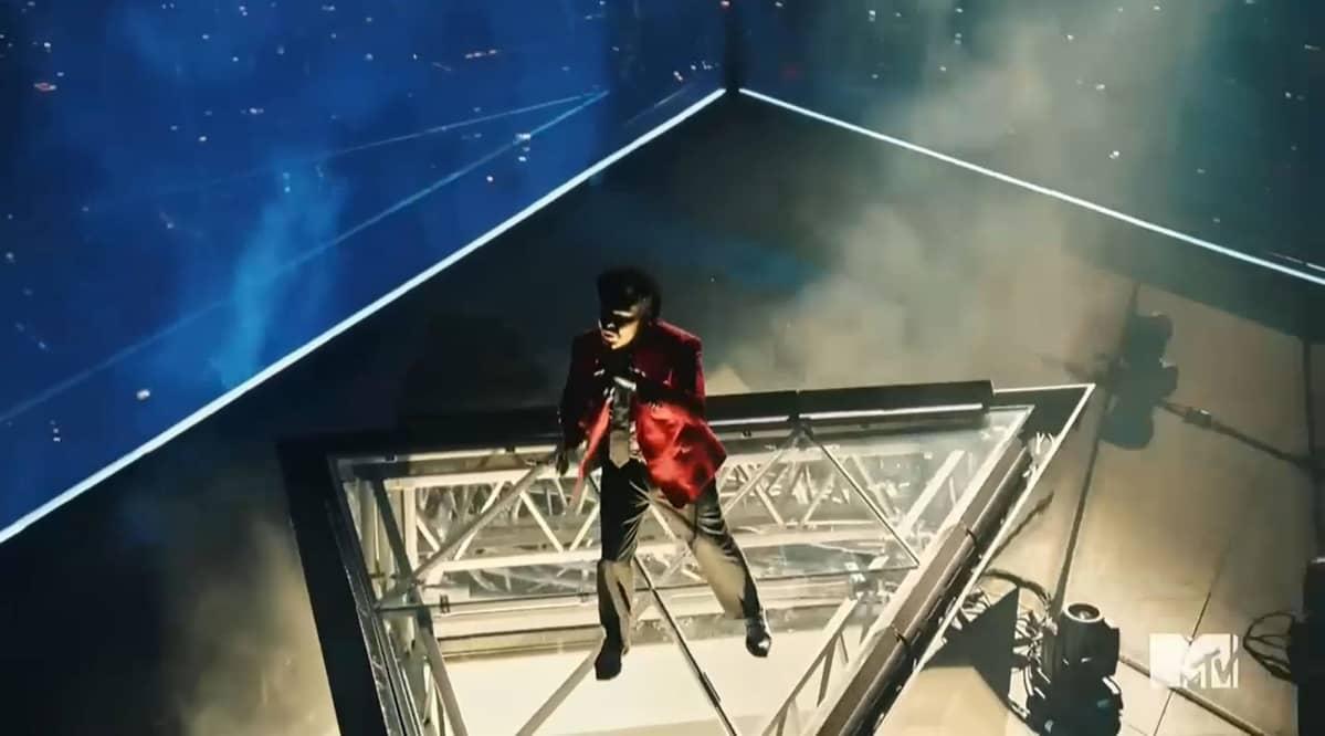 Weeknd MTV Video Music Awards 2020 -show'ssa.