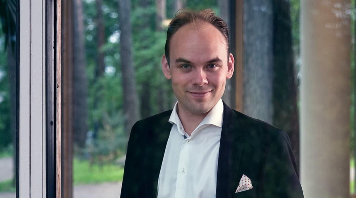 Jyväskylä Sinfonian kapellimestari Ville Matvejeff