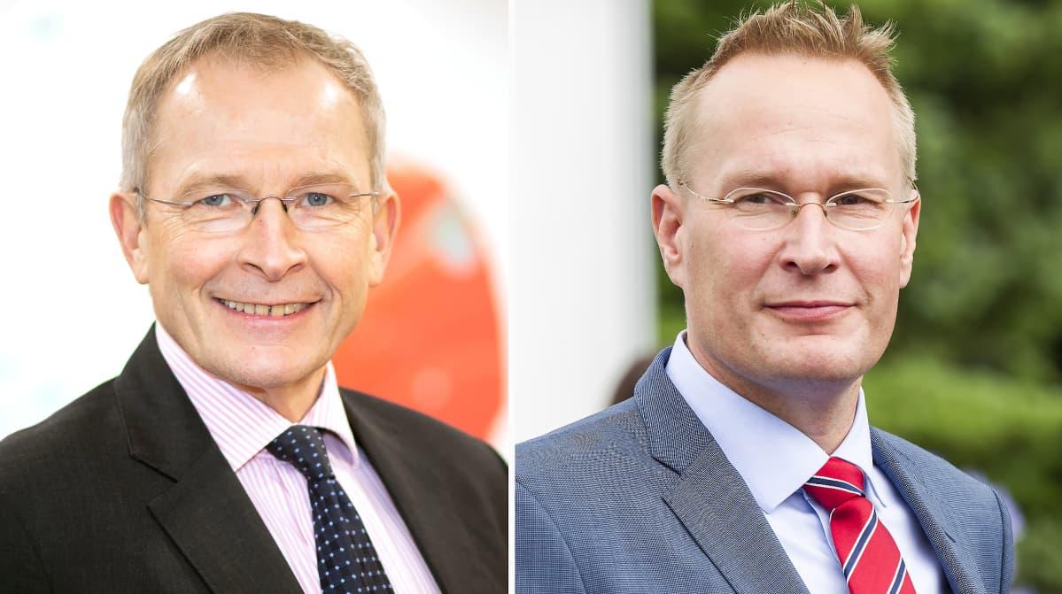 Risto E. J. Penttilä ja Markku Jokisipilä