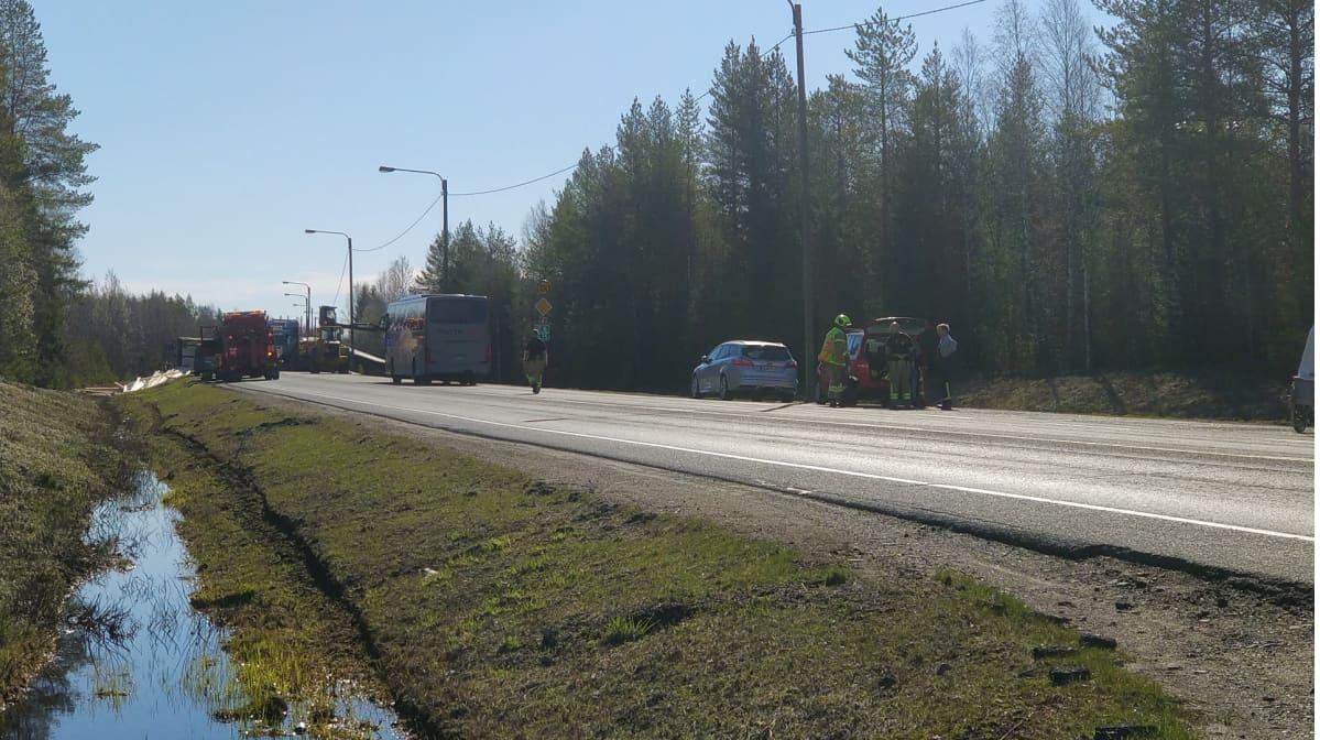 Liikenneonnettomuus Simossa 15.5.2019