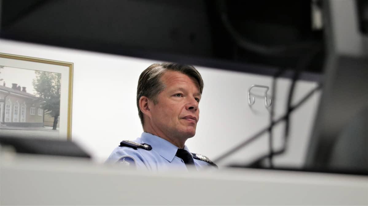Kaakkois-Suomen poliisilaitoksen apulaispoliisipäällikkö Kari Hyyryläinen