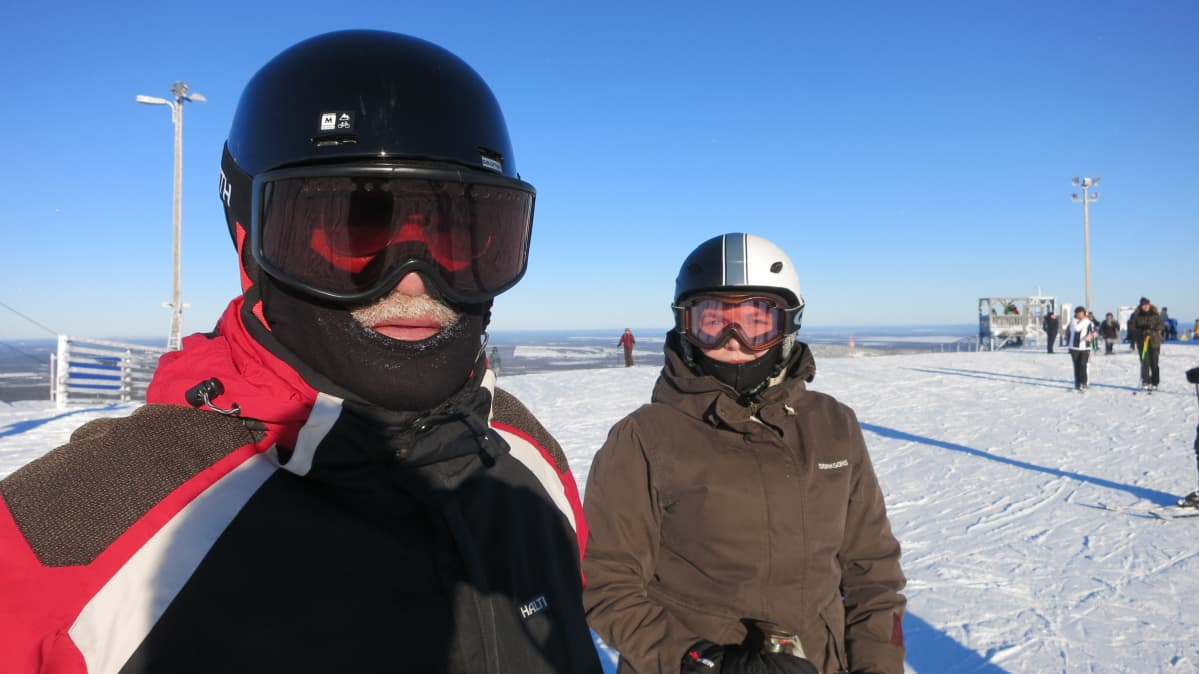 Yrjö Mensola ja Kirsi-Marja Ajosenpää