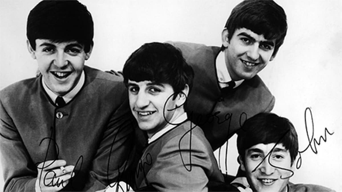 The Beatles vuonna 1964.