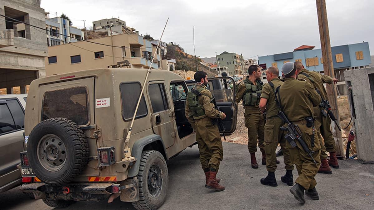 Isrealilaisia sotilaita.