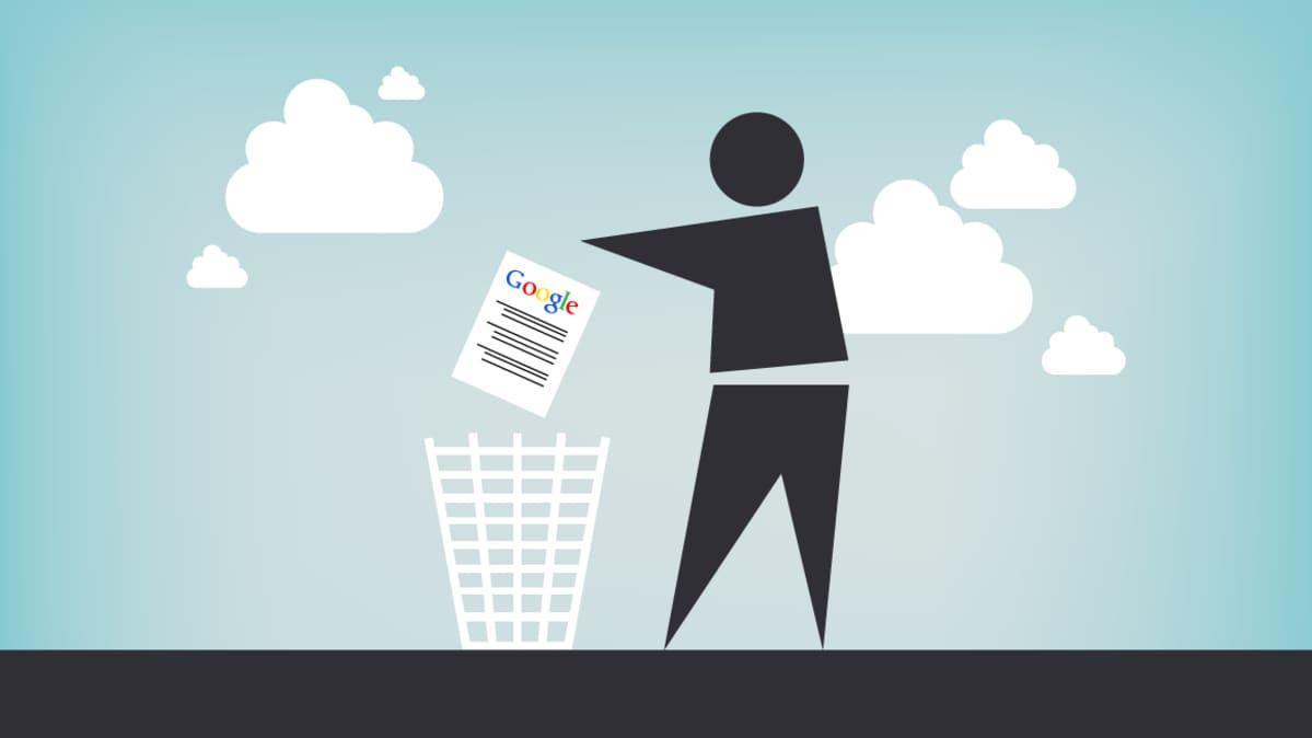 Googlen poistopyynnöt