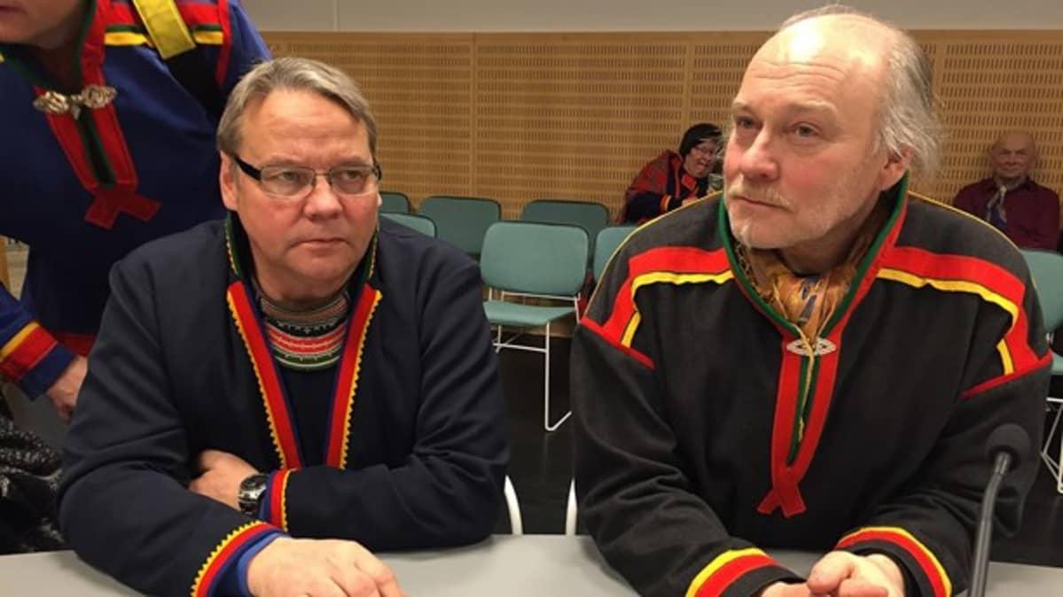 Jörgen Jonsson (gur.) ja Mats Berg