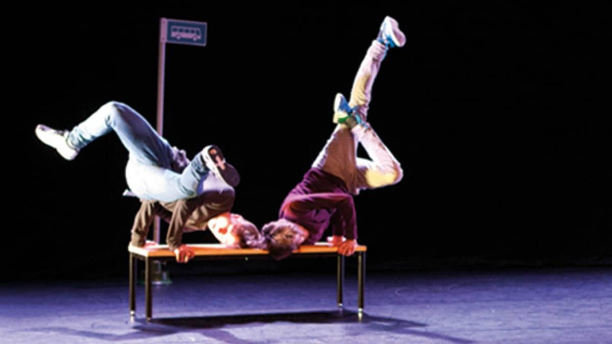 On Stage nuoria esiintymässä Kuopio Tanssii ja Soi -festivaaleilla