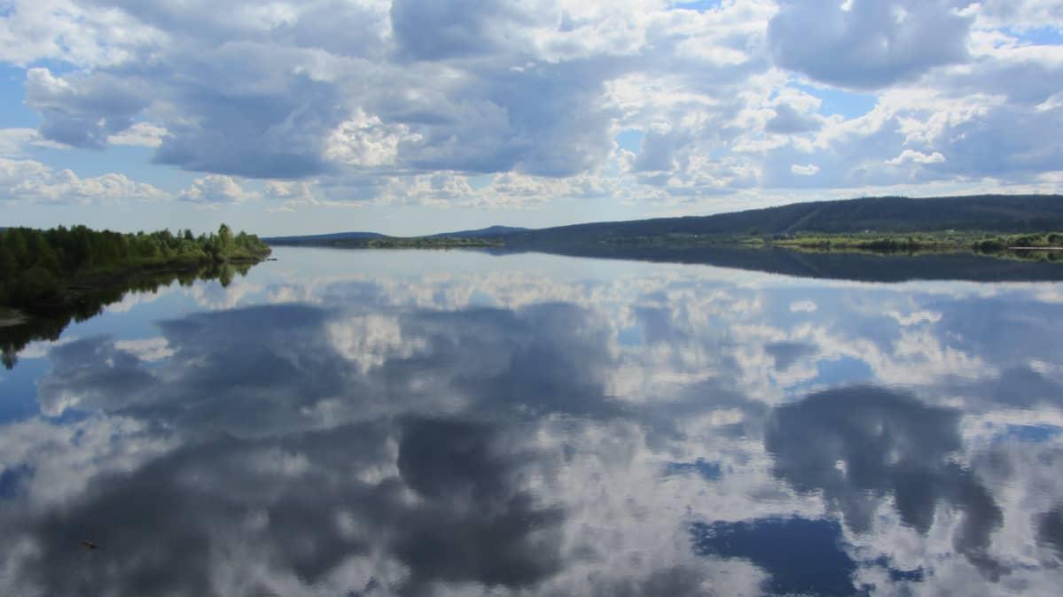 Tornionjoki Aavasaksan kohdalla