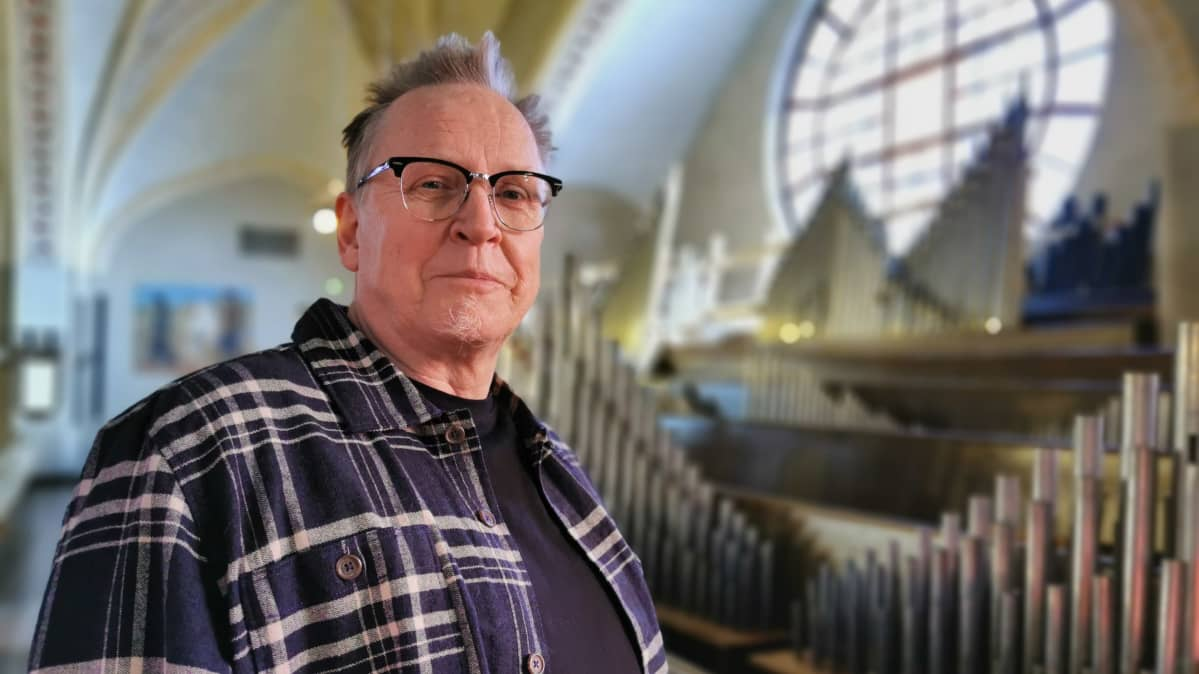 Urkurakentaja Heikki Autio Tampereen tuomiokirkossa