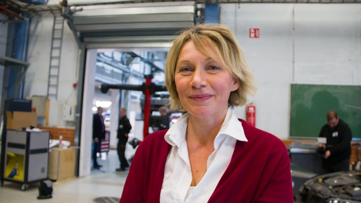 Nivalan kaupunginjohtaja Päivi Karikumpu on Jokilaaksojen koulutuskuntayhtymän hallituksen puheenjohtaja.