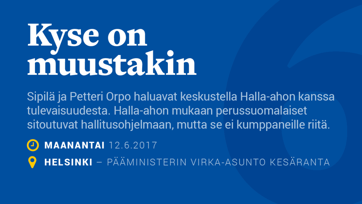 Kyse on muustakin