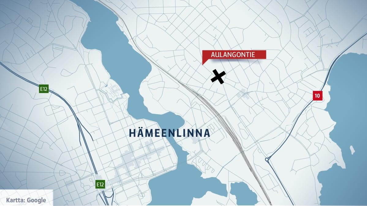 Hämeenlinnan kartta
