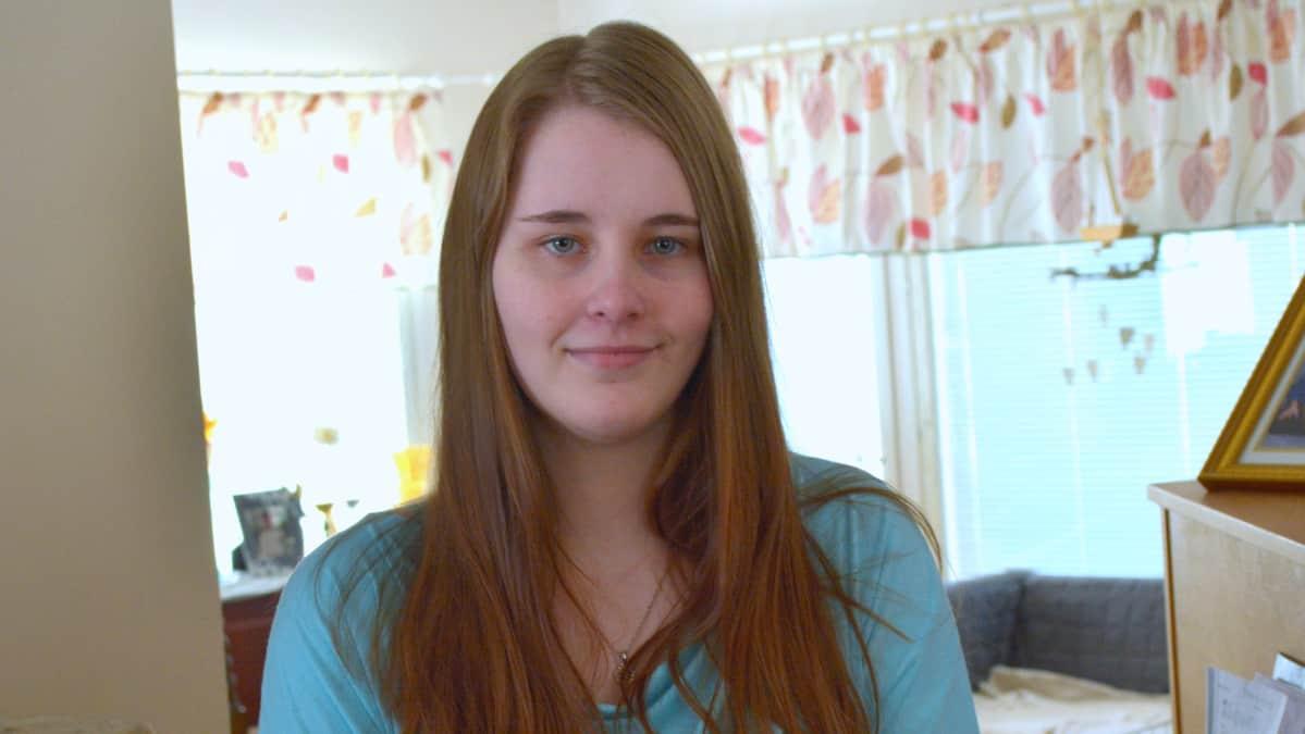 Vera Koponen kotonaan Pieksämäellä