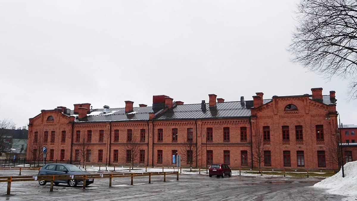 Suomen Kasarmi Hämeenlinnassa