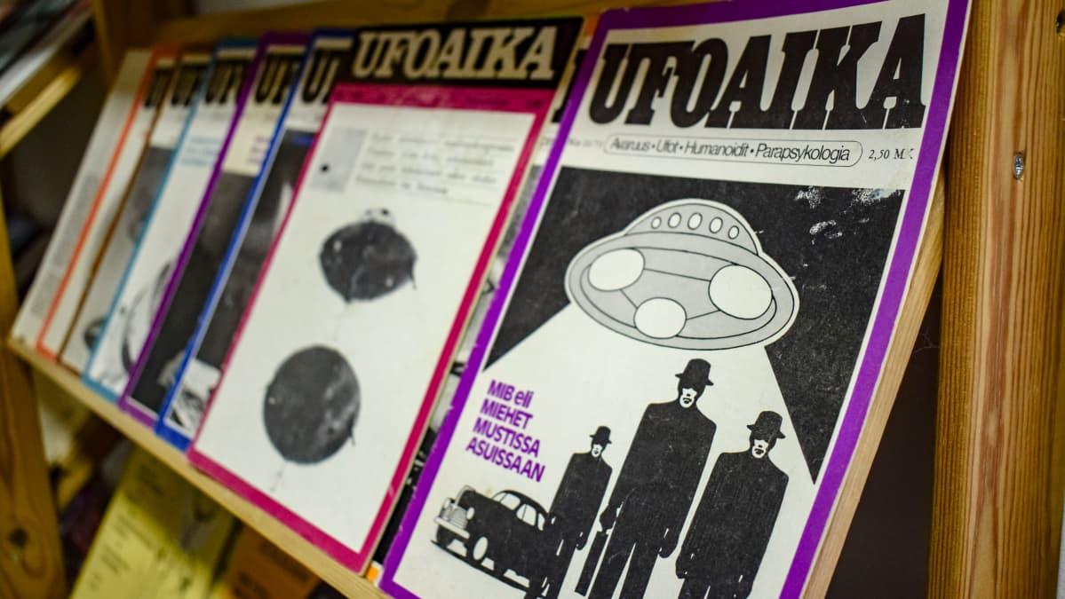 Vanhoja Ufoaika-lehtiä