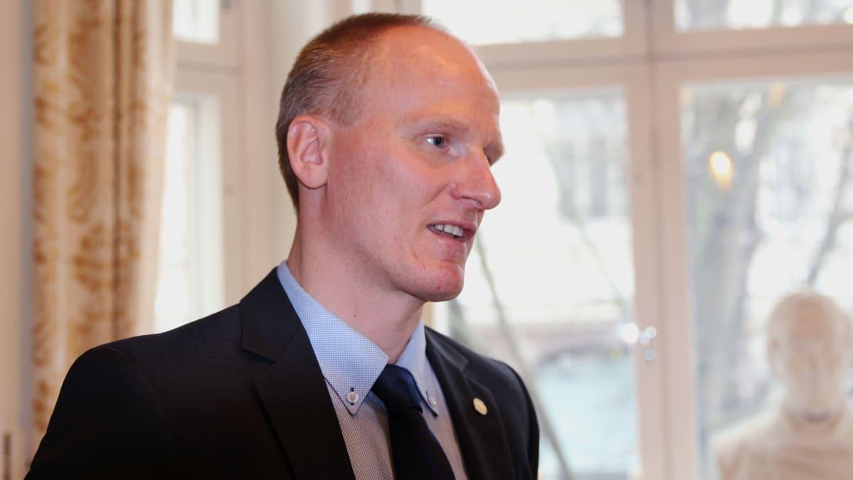 Suomen Hypoteekkiyhdistyksen (Hypo) sijoitusjohtaja Juho Pajari