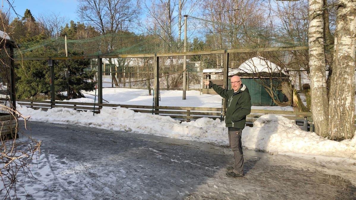Heinolan uudistettava vesilintuaitaus