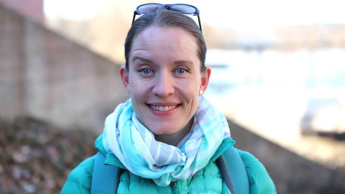 Vihreiden kansanedustaja Mirka Soinikoski.