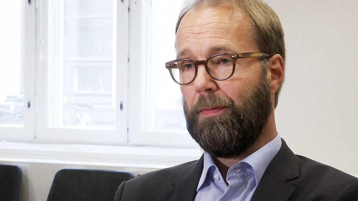 Oikeusministeriön lainsäädäntöjohtaja Antti Leinonen.