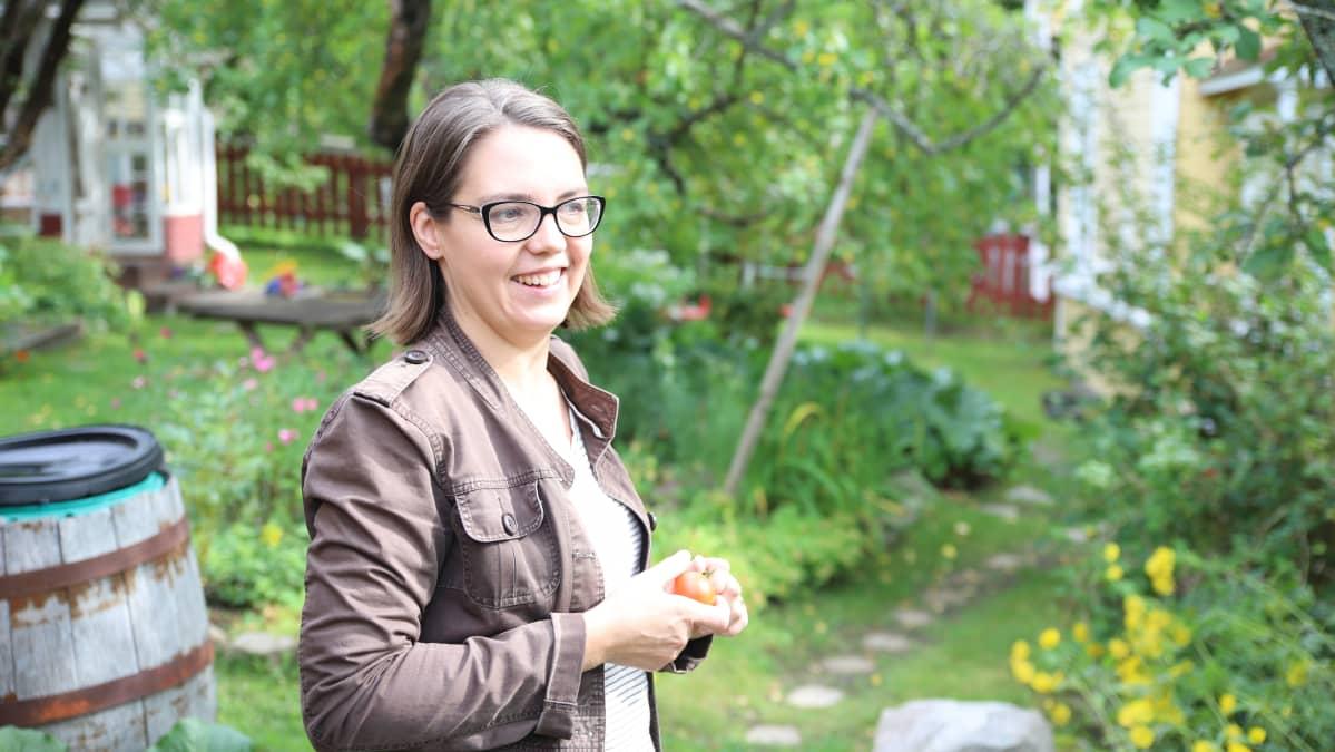 Minna Laherto Anttilanmäen asukas Lahdessa