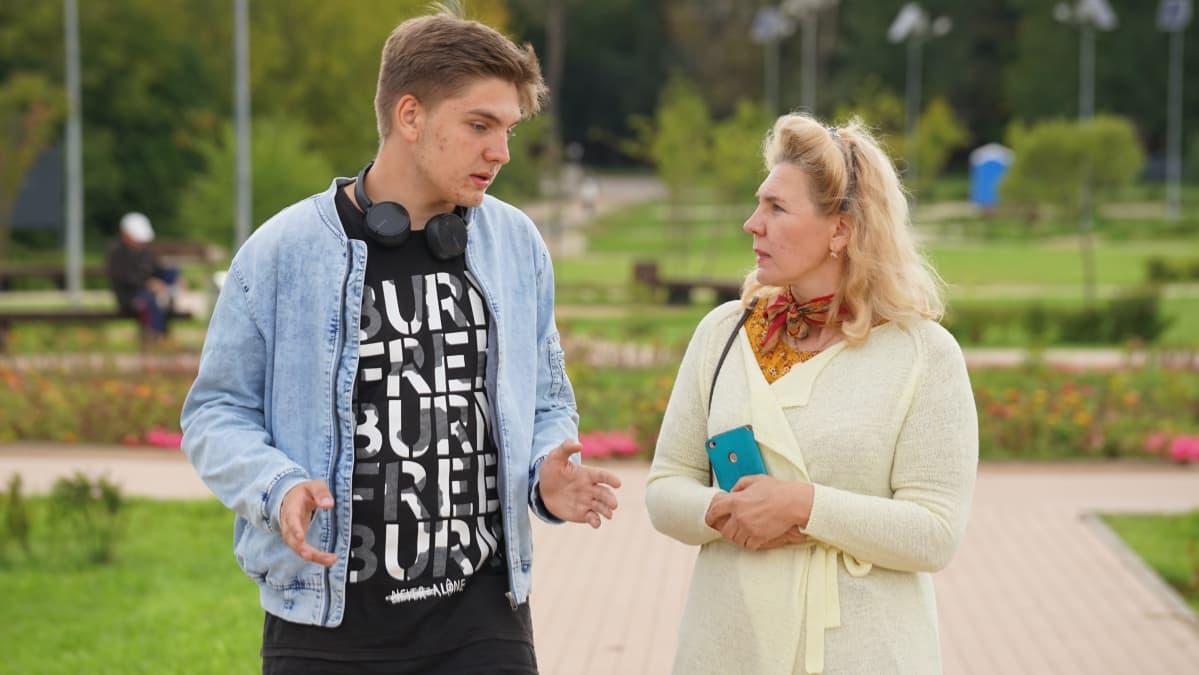 Fjodor Hudokormov ja Jelena Matjušina