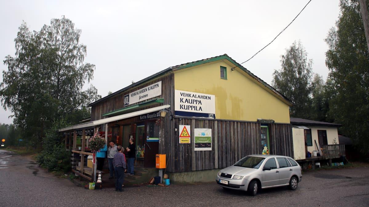 Vehkalahden kyläkauppa Hartolan Koitissa.