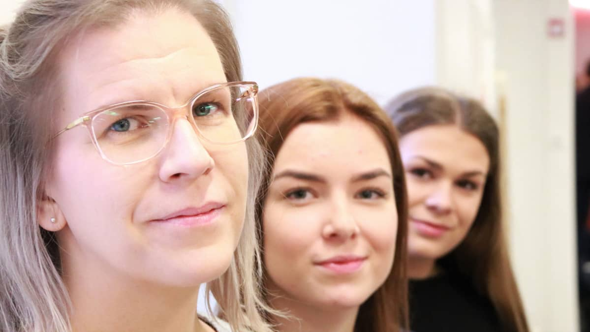 Jenni Pölönen, Noora Ylönen ja Venla Kettunen