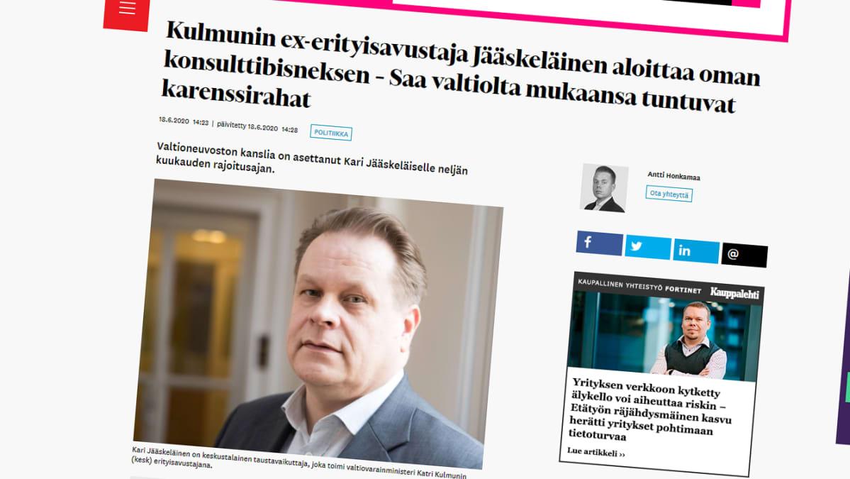 Talouselämän uutinen.