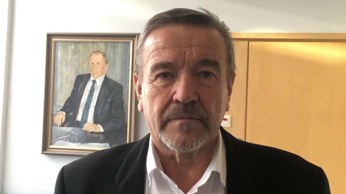 Rääkkylän kunnanjohtaja Yrjö Eronen marraskuussa 2020.